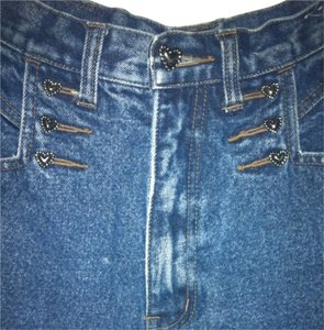 WESTERN ETHICS Silver Classic Fit Country Straight Leg Jeans-Medium Wash