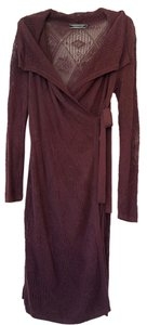 Peruvian Connection short dress Merlot Fall Sweater Fall on Tradesy