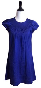 Calypso St. Barth short dress Royal blue on Tradesy