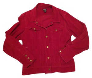 Northcrest Corduroy Corduroy Indie Red Jacket