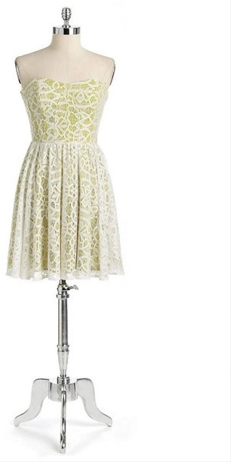 Guess short dress White Lace Party on Tradesy