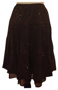 Joe Benbasset Skirt Brown