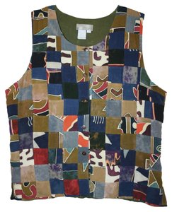 The Territory Ahead Patchwork Top Vest