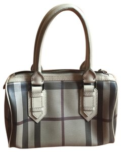 Burberry Bowlingbag Check Small Baguette