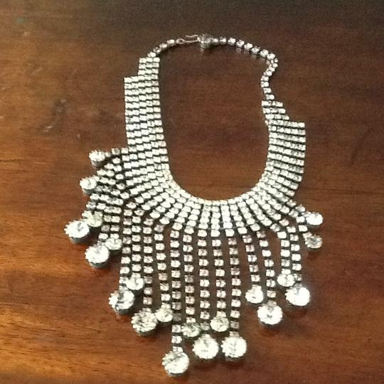 Other Rhinestone Drop Necklace