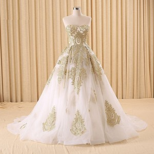 Gold Wedding Dress Wedding Dress