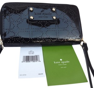 Kate Spade Iphone Case Wristlet in black