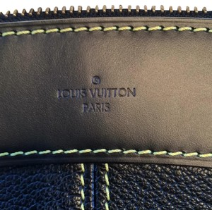 Louis Vuitton Suhali Goatskin Leather Wallet Black Clutch
