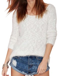 Nasty Gal Soft White Sweater