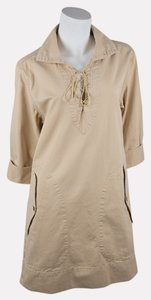 Ralph Lauren short dress Khaki on Tradesy