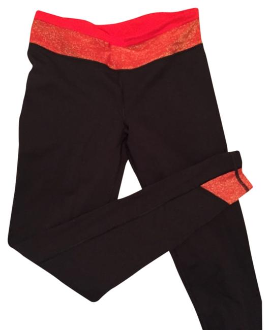 Item - Black Red Gold Knockout Tight Activewear Bottoms Size 4 (S, 27)