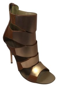Giuseppe Zanotti Brown/ Rose Gold Sandals