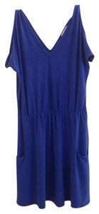 Josh Brody short dress blue on Tradesy