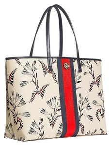Tory Burch Leather; 100% Guaranteed Or Your Money Back! Tote in Cape Floral