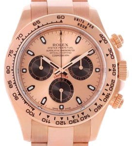 Rolex Rolex Cosmograph Daytona Everose 18k Rose Gold Watch 116505