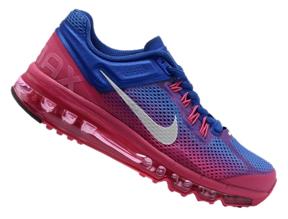fcdc603a74e0 Nike Blue Pink White Wmns Air Max+ 2013 Prm Sneakers Size US 7.5 ...
