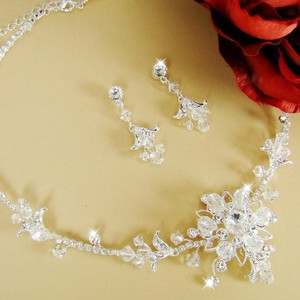 Elegance By Carbonneau Couture Crystal Wedding Jewelry Set