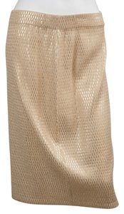 St. John Skirt Gold