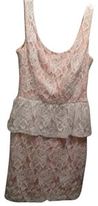 Charlotte Russe Peplum Lace Dress