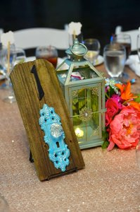 10 Vintage Table Numbers