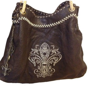 Royal Plush Tote in Brown