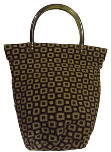 Billabong Tote in Lime Green/Black