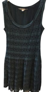 Max Studio short dress Teal on Tradesy