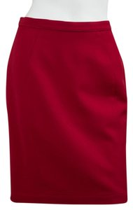 Thierry Mugler Thierry Mugler Red Skirt Suit