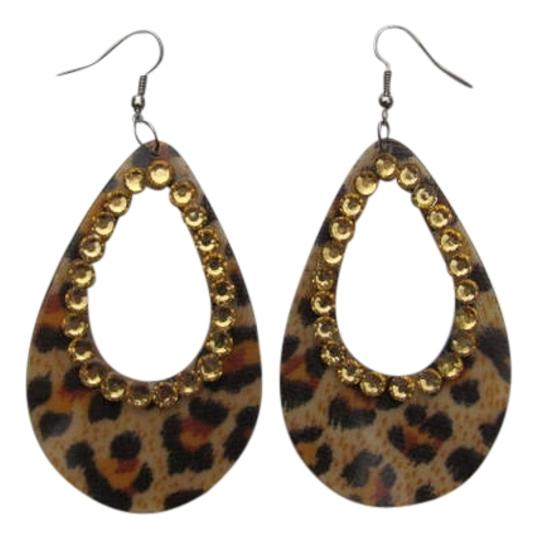 Other NEW!!! ANIMAL PRINT EARRINGS
