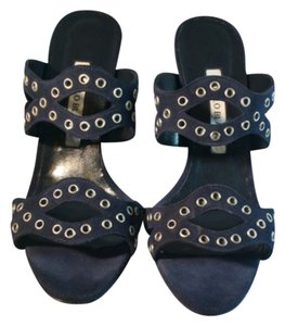 Manolo Blahnik Navy blue Formal