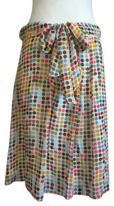 Trina Turk Polka Dot Skirt Multi