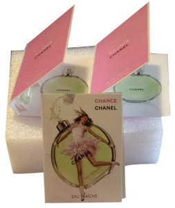 Chanel Chanel Eau Fraiche Sample Lot Of 3