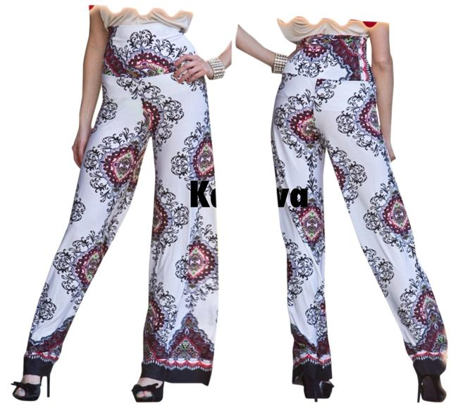 Preload https://img-static.tradesy.com/item/761919/white-vintage-print-palazzo-wide-leg-pants-size-12-l-32-33-0-0-650-650.jpg