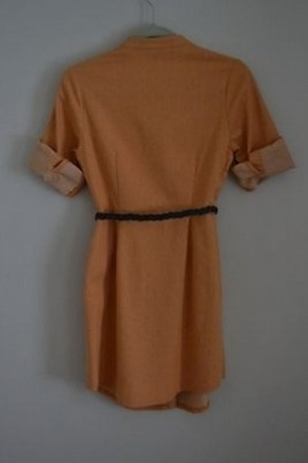 BB Dakota short dress Orange on Tradesy