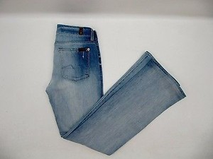 7 For All Mankind Womens Light Boot Cut Jeans