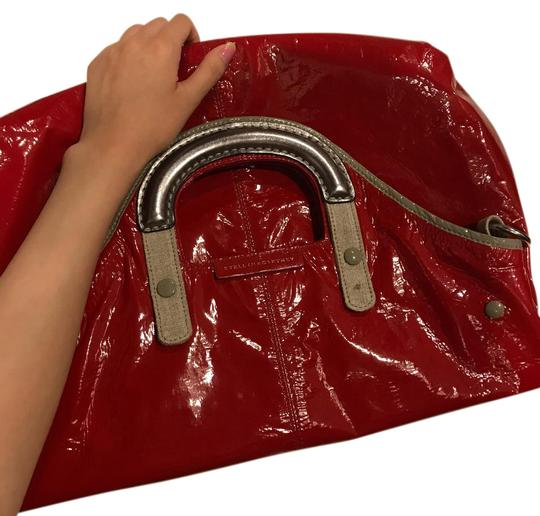 Preload https://item1.tradesy.com/images/stella-mccartney-gold-over-candy-versatile-red-vegan-leather-tote-762020-0-2.jpg?width=440&height=440