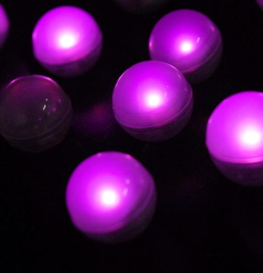 Pink - 120x Fairy Mini Led Lights Centerpieces Table Top Indoor Outdoor Patio Pool Floating Decor Waterproof