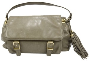 J.Crew Tassels Satchel in Gray