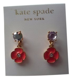 Kate Spade Kate Spade Dangling Flower Earrings