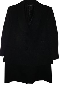 Kasper Black 2 Pc Skirt Suit