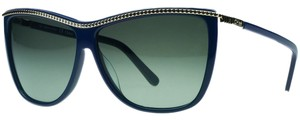 Chloé Chloe Blue Rectangular Sunglasses