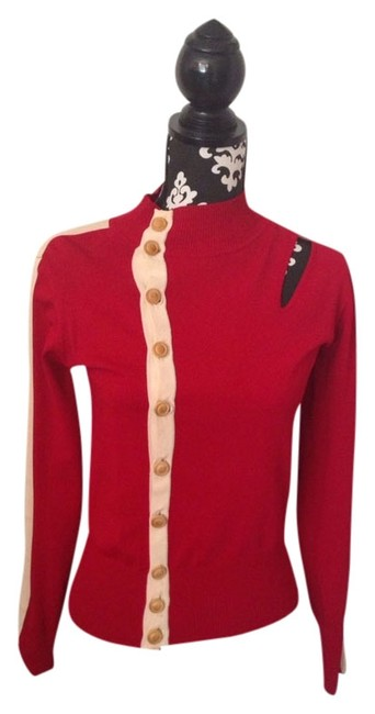 Preload https://item5.tradesy.com/images/diesel-red-cutout-cardigan-size-4-s-762199-0-0.jpg?width=400&height=650
