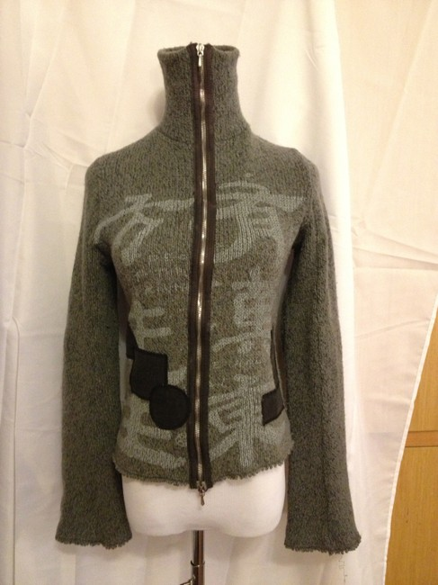 People of the Labyrinths Zip Up Boutique High End Sweater