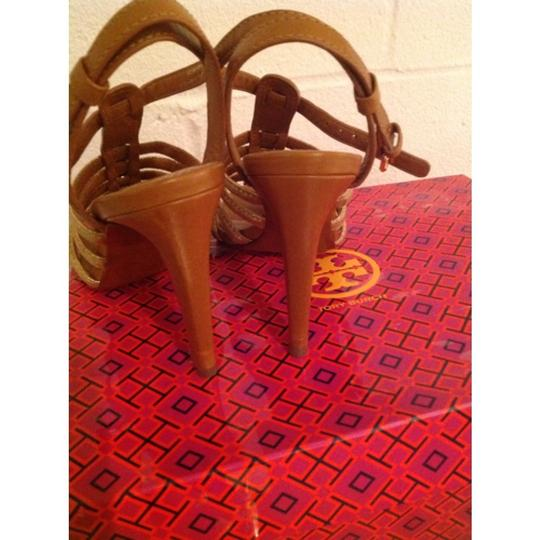 Tory Burch Brown/Gold Formal Image 10