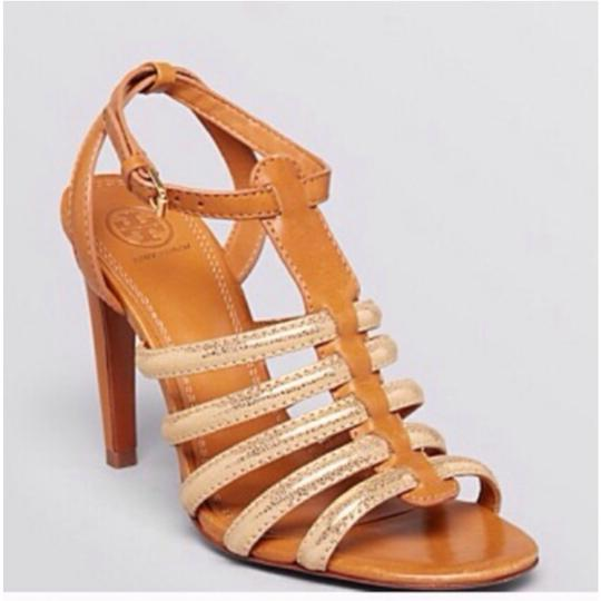 Tory Burch Brown/Gold Formal Image 4