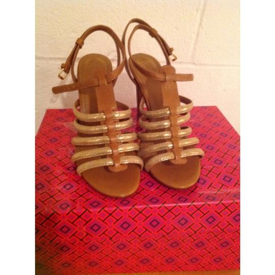 Tory Burch Brown/Gold Formal Image 5