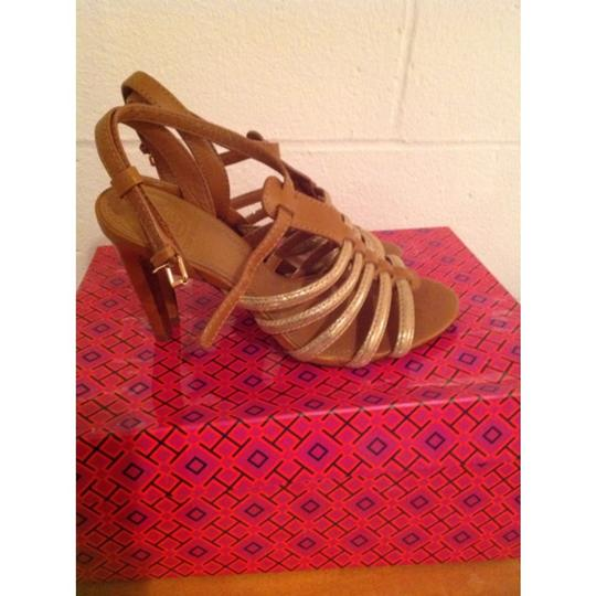 Tory Burch Brown/Gold Formal Image 6