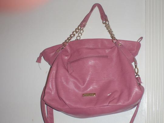 Steve Madden Tote Tote Shoulder Cross Body Pink Messenger Bag Image 4