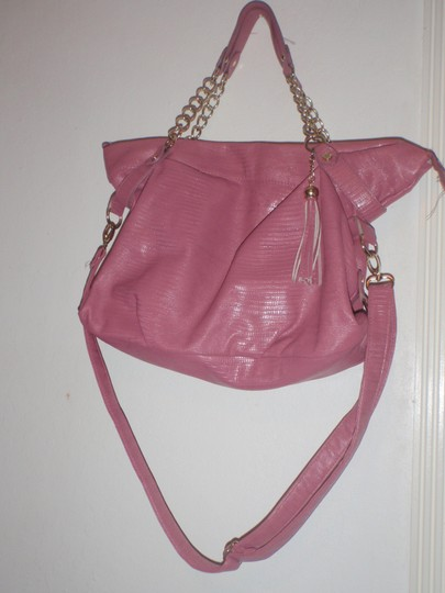 Steve Madden Tote Tote Shoulder Cross Body Pink Messenger Bag Image 6