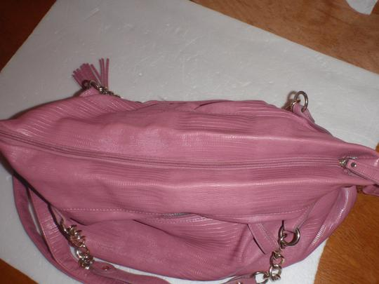 Steve Madden Tote Tote Shoulder Cross Body Pink Messenger Bag Image 8